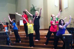 Dance on Youth Sunday 2012